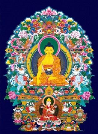 Buddha_Shakyamuni-Tsongkhapa_