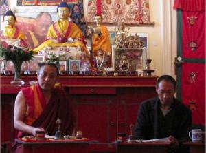 Geshe Rigdzin Gyaltsen und Lobsang Gedun